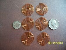 12 Shielded WIRE SBB Copper Coils For ORGONE MAKING SUPPLIES, Radionics