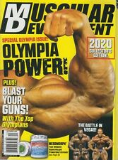 Muscular Development December 2020 Special Olympia Issue! Collector's Edition