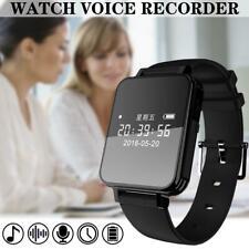 Digital Voice Recorder Watch Sound Audio Recorder Usb Rechargeable 96Hr