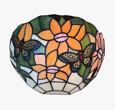 Schmetterling Butterfly Tiffany Wand Lampe Tiffanylampe Wandlampe GN104W