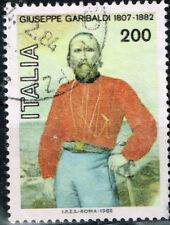 Italy Famous Leader General Giuseppe Garibaldi stamp 1982