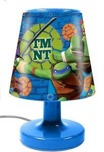 Mutant Ninja Turtles Bedside Light TMNT Child Safe Leonardo Raphael Donatello
