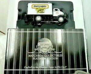 Matchbox Collectibles Platinum Ed 3rd Annual Collector's Guild 1948 GMC COE NIB