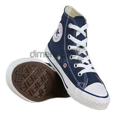 SCARPE CONVERSE ALL STAR ALTE blu JUNIOR TG. 27 US 10,5 UK 10 KIDS SHOES 3J233
