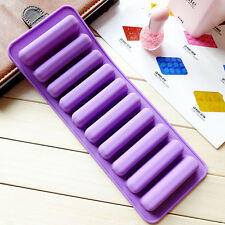 7014 Lady's Finger Stick Shape Silicone Cookie Cupcake Bake Bread Ice Tray Mold