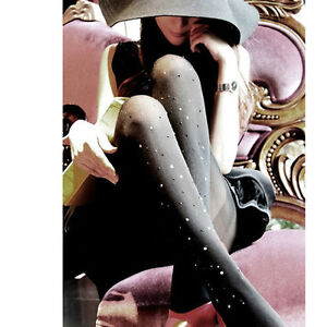 BLING COLLECTION Hot New Fashion Shiny Stocking Legging Colour Crystal