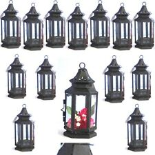 15 Black Lantern Small Candle Holder Wedding Centerpieces