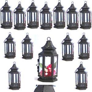 15 Black Lantern Small Candle Holder Wedding Centerpieces