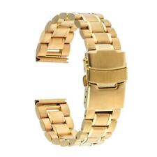 Stainless Steel Metal Watch Strap Solid Bracelet Replacement Wristbands 18-24mm
