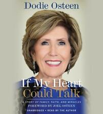 C New Audio Book If My Heart Could Talk: A Memoir Dodie Osteen Faith CDs Unabrd