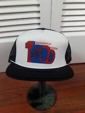 VINTAGE TEAM HONDA beaverton  SNAPBACK TRUCKER Hat Cap Mesh Racing Made USA