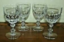 Lot of 4 Vintage Tiffin Franciscan Glass Manchester Wine/Cordial Glasses #2