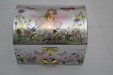 Girls Ballerina Jewellery Music Musical Box Fairy  Draw Ideal Flower Girl Gift