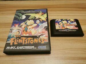 The Flintstones For Sega Mega Drive Boxed - See Offer!