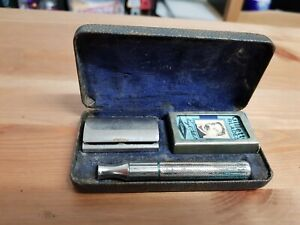 1948 Gillette British Tech Set #44 Thin Handle Used