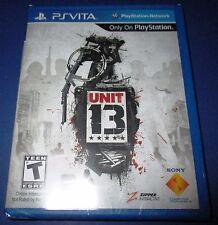 Unit 13 - Playstation Vita - Factory Sealed!! Free Shipping!!