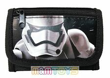 Disney Star Wars Stormtrooper The Force Awakens Kids Tri-Fold Wallet Coin Purse