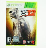 WWE '12: Xbox 360 [Brand New]