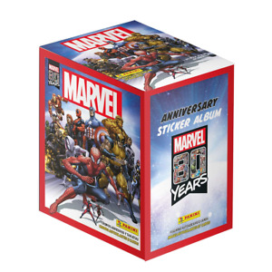 80 Years MARVEL Collection 2020 – Stickers & Cards – 50 packs = 1 BOX