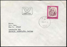 Austria 1977, 7s50 Definitive FDC First Day Cover #C17613