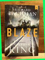 Blaze by RICHARD BACHMAN HC/DJ 2007 Scribner BCE Horror / Thriller / Drama EX