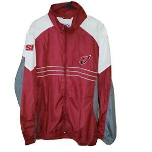 SAINT LOUIS CARDINALS NFL Zip-up Jacket XXL New.