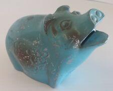 vintage metal piggy bank, Westside Federal Savings and Loan Seattle, rrr11944