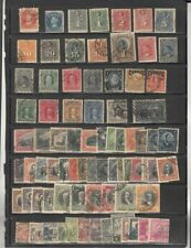 oldhal-Chile-Lot of Columbus Stamps plus others- 1867-1931