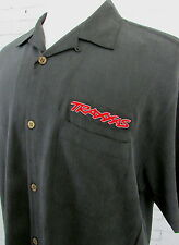 Men's Traxxas Silk Button Up Shirt Uniform Large