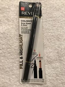 Revlon ColorStay Brow Shape And Glow- Fill And Highlight Soft Black 250 B14