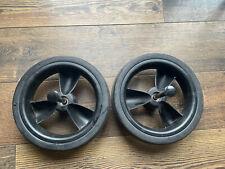2x iCandy Peach 3 Rear Back Wheels Black