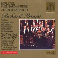 CD Claudio Abbado Berliner Philharmoniker Richard Strauss Neujahrskonzert 1992