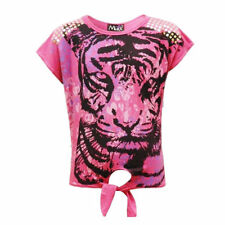Girls' 3/4 Sleeve Sleeve Crew Neck T-Shirts, Top & Shirts (2-16 Years)