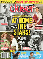 Closer Magazine May 18 2020 Hollywood's Golden Era: At Home With the Stars!