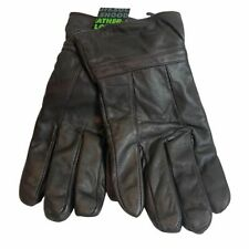Mens Leather Gloves Knitted Trim GL390