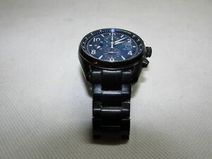 Citizen Mens Black Stainless Steel Eco-Drive Watch B612-S087911 RF4183