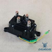 12V Solenoid Relay Contactor Winch Solenoid Switch Thumb Universal For ATV UTV