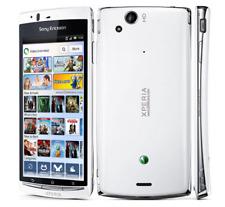 "4.2"" Blanc Déverrouillé Sony Ericsson Xperia arc S LT18i 8MP 1GB WIFI Téléphone"