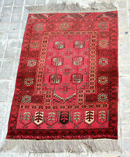 PRAYER RUG. WOOL KNOTTED BY HAND. BUKHARA YARMUK. MIDDLE EAST. PRINCIPLE XX.