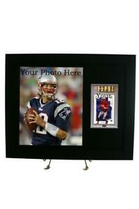 BGS Graded Sports Card Frame with 8 x 10 Photo Opening (New-Black Design)