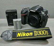 Nikon D300S 12.3MP Digital SLR Camera - Black (Body Only) - Shutter Count:4971