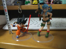 Dragon ball Z  Dragon ball Goku & Bulma Figure Used Japan