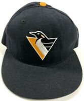 Pittsburgh Penguins NHL New Era Size 6 3/4 Fitted Hat