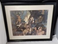 "Nat Youngblood Watercolor Print Courage on the Trail, Framed, 21.5""×17.5"""