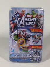 Marvel Avengers Jumbo Playing Card Superset for Boys & Girls 5+