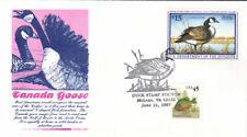 #RW64 Canada Goose Gamm FDC (0301997RW64001)