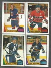 1987-88 Topps Hockey 35 Card Lot NM-MT With Stars