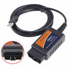 2017 ELM327 USB Interface OBDII OBD2 Diagnostic Auto Car Scanner Scan Tool Cable