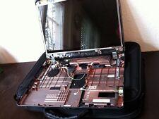Toshiba L300D Gehäuse Reste + Deckel + 2 x Scharniere + Display (defekt) + Vista