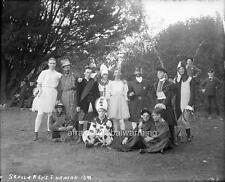 "Photo 1890s Univ Calif Berkeley ""Skull & Keys Hazing"""